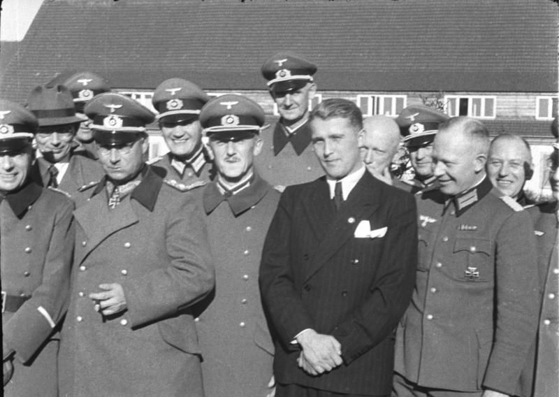 How the career began under the Nazis