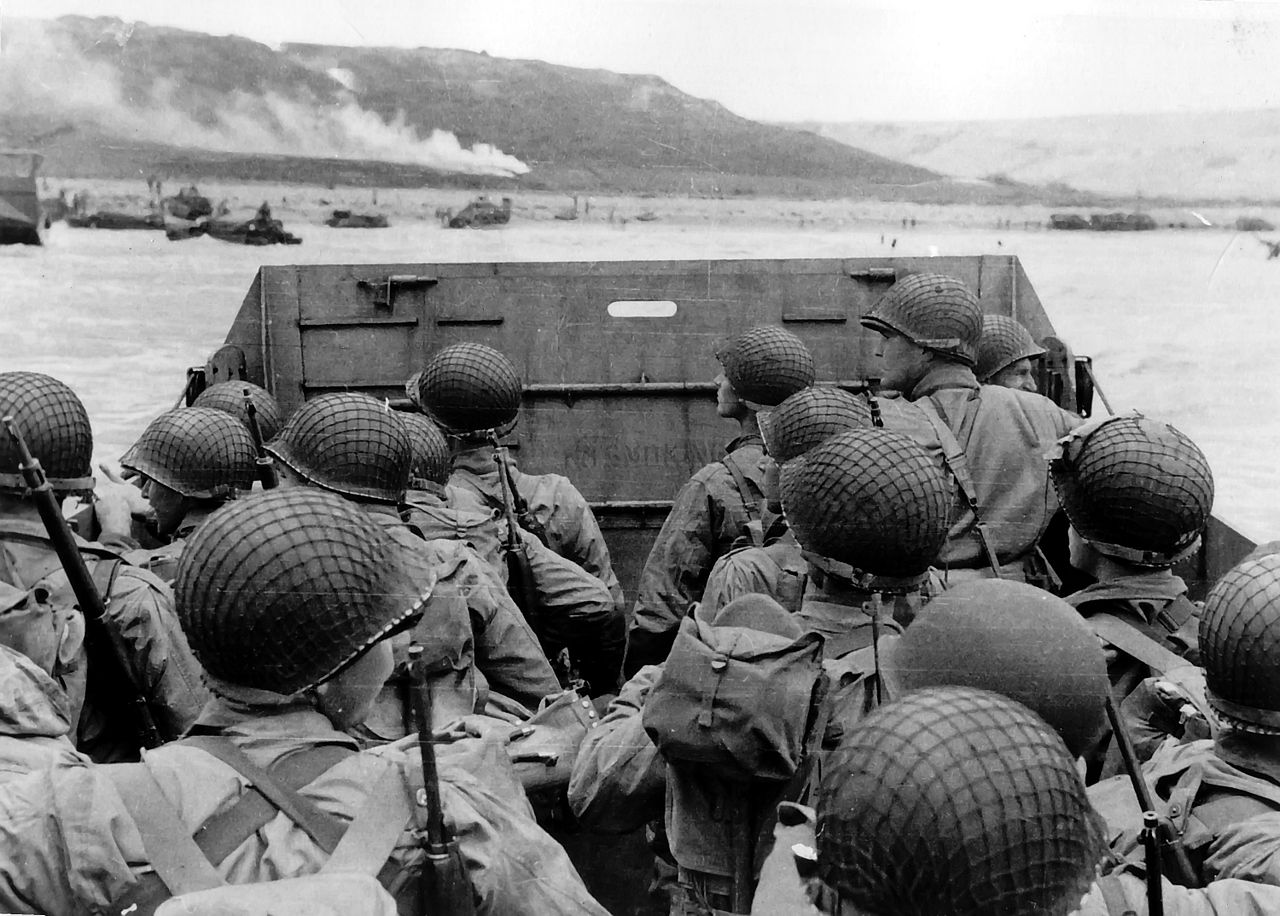 D-Day, battle of Mink and battle of the Bulge