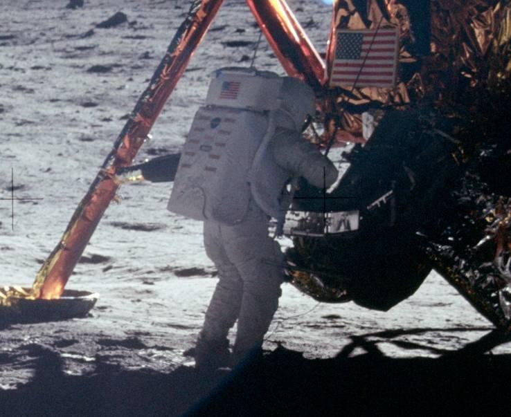 First moon landing